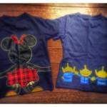 ディズニーへ着て行きたいTシャツNo1〜?!「みんなでつながるディズニーTシャツ」を着てみました!