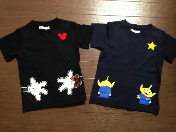 みんなでつながるディズニーTシャツ3
