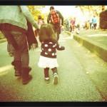 娘1歳が駆け抜けた500mマラソン