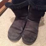 妻の色あせたUGGのブーツをお手入れしてみた!これ1本でまるで新品に!!