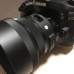 赤ちゃんの撮影にオススメ!愛用のSIGMA F1.4単焦点レンズを80d購入を機に新型へ買い替え!!